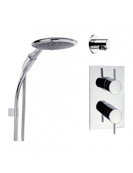 Kai Thermostatic Valve With 1 Mode Shower Kit And Wall Outlet