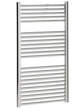 Design Flat Panel Towel Rail Chrome 500 x 1110mm - DE50X111C
