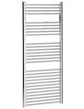 Design Flat Panel Towel Rail Chrome 500 x 1430mm - DE50X143C