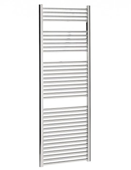 Design Flat Panel Towel Rail Chrome 500 x 1700mm