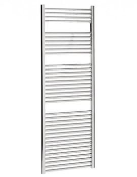 Bauhaus Design Flat Panel Towel Rail Chrome 500 x 1700mm