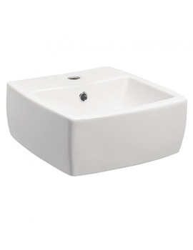 Touch 400mm Vanity Basin With Overflow - ED0004SCW