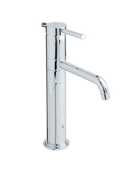 Heritage Fairport Single Lever Extended Basin Mixer Without Waste - TSFCE04