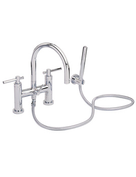 Heritage Fairport Bath Shower Mixer Tap - TSC02+TSFC00
