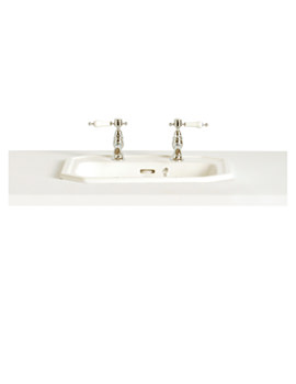 Heritage Granley 1 Taphole Tapledge Inset Basin - PGRW121