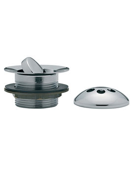 Related Tre Mercati Flip Plug Bath Waste With Solid Plug And Overflow - 717F