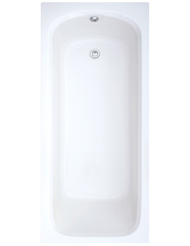 Trojan Derwent Single Ended Bath 1500 x 700mm White