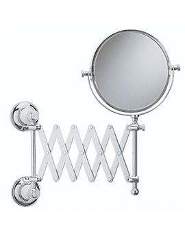 Heritage Clifton Extendable Mirror Chrome - ACC16