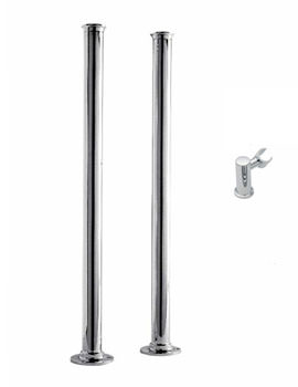 Tre Mercati Minimal Stand Pipes With Handset Holder - 63150