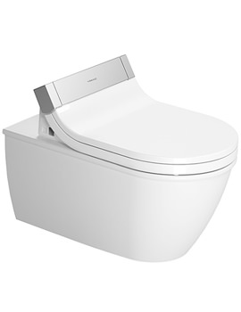 Sensowash e Seat With Darling New Wall Mounted WC Pan