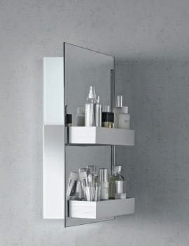 Related Duravit Starck IP 44 Mirror Cabinet 600 x 700mm - S19720L0000