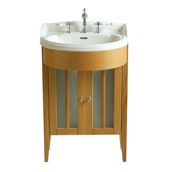 image of heritage bowfront medium vanity unit fhoa20