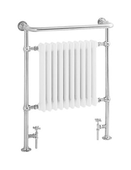 Heritage Clifton Heated Towel Rail Chrome - AHC73