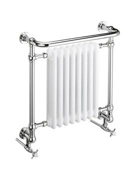 Clifton Wall Hung Heated Towel Rail - AHC101