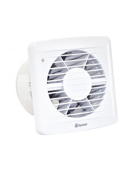 Xpelair SLDC150HT Slimline Axial Humidistat Timer Fan With DC Motor