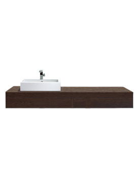 Delos Console With 2 Drawers 1500mm - 28 Options Of Basin - DL6791L6969