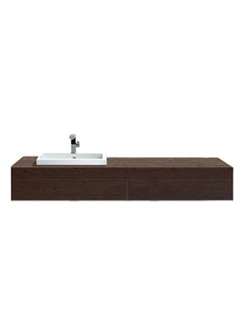 Related Delos Console With Drawer For Vanity Basin [7 Options] - DL6891L6969