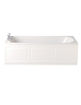 Dorchester 1700 x 700mm Single Ended Bath - BDW00SS