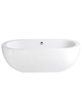 Heritage Sonic 1800 x 850mm Freestanding Double Ended Bath - BSOW00
