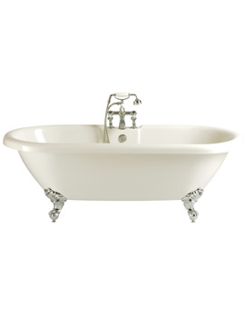 Oban Double Ended Roll Top Bath With Feet 1760 x 790mm