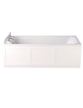 Granley 1700 x 750mm Single Ended Bath - BGRW00SS