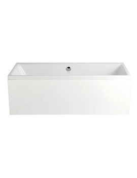 Heritage Venice 1700 x 750mm Acrylic Double Ended Bath - BVEDW00