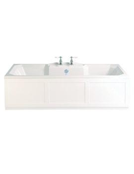 Heritage Granley 1800 x 800mm Double Ended Bath - BGDW00