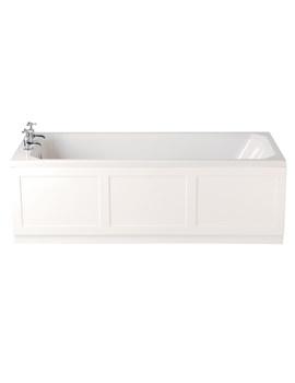 Granley Deco 1700 x 700mm Single Ended Bath - BGDW02SS