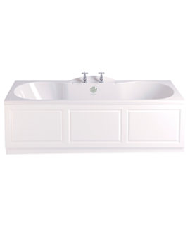 Rhyland 1700 x 750mm Double Ended Bath - BHDW00SS