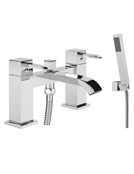 Kick Bath Shower Mixer Tap And Shower Handset - TKC42