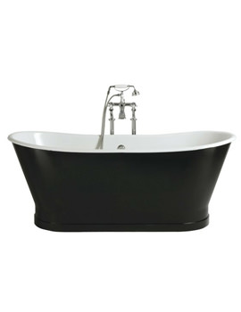 Madeira Freestanding Cast Iron Double Ended Bath - BRT76