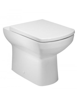 Related Tavistock Vibe Back To Wall WC Pan And Soft Close Seat - BTW700S