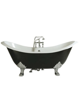 Devon Freestanding Cast Iron Bath With Feet
