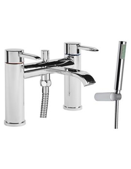 Hype Bath Shower Mixer Tap And Shower Handset - THP42