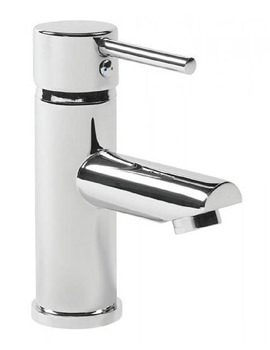 Lift Single Lever Basin Mixer Tap With Click Waste - TLF11