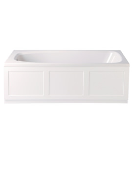 Belmonte 1524 x 750mm Single Ended Bath - BPW00SS