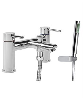 Tavistock Lift Bath Shower Mixer Tap And Shower Handset - TLF42