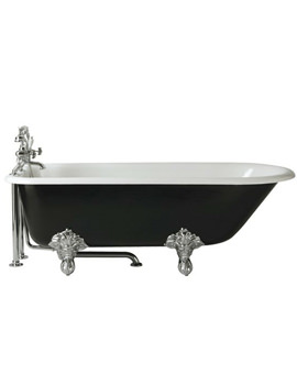 Essex Freestanding Roll Top Cast Iron Bath With Feet