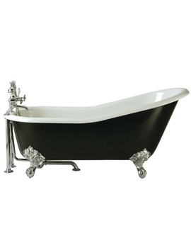 Hampshire Slipper Cast Iron Bath With Feet