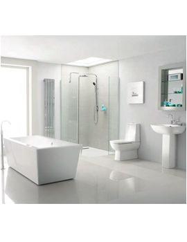 Heritage Sonic Square Bathroom Suite