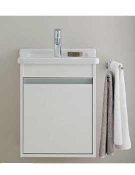 Duravit Ketho 400mm Single Door Unit With D-Code 600mm Basin
