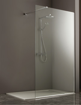 Heritage Linear Corner Shower Glass Panel 1200mm - SIPC120