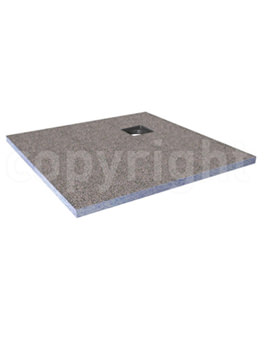 Wetroom Level Access Shower Tray 1200x900mm Corner Waste