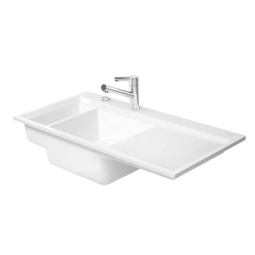 Duravit Kiora Kitchen Sink Flush Mounted 60 751910