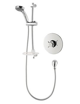 Unichrome Mersey Built In Mini Sequential Mixer Shower