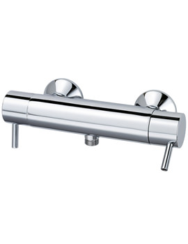 Related Triton Elina Bar Shower Mixer With Bottom Outlet - ELITHBM