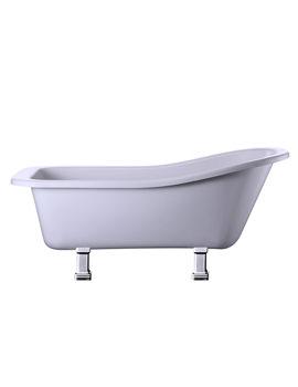 Harewood Slipper Bath With Chrome Period Legs - E1 - E9 CHR