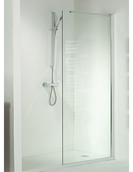 Phoenix Techno View Walk In Corner Wall Shower Enclosure - SE070