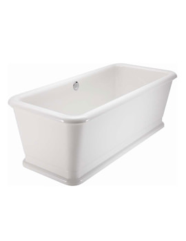 London Rectangular Soaking Bathtub 1800 x 850mm - E19