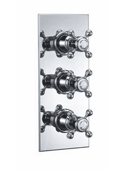 Burlington Clyde Concealed Thermostatic Shower Valve - H395-AN